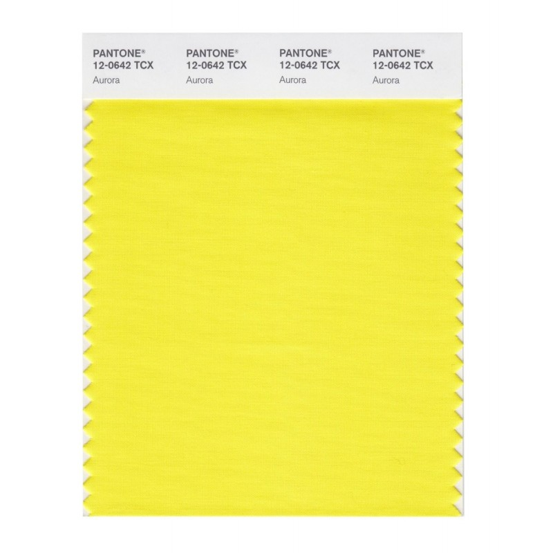 Pantone 12-0619 TCX Swatch Card Dusty Yellow