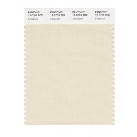 Pantone 12-0703 TCX Swatch Card Seedpearl