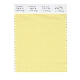 Pantone 12-0711 TCX Swatch Card Lemon Meringue