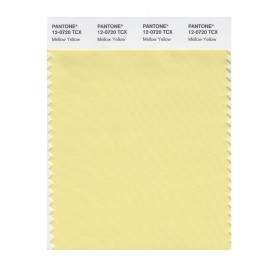 Pantone 12-0720 TCX Swatch Card Mellow Yellow