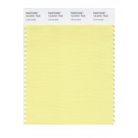 Pantone 12-0721 TCX Swatch Card Lemonade