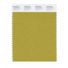 Pantone 16-0639 TCX Swatch Card Golden Olive