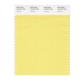 Pantone 12-0727 TCX Swatch Card Sunshine