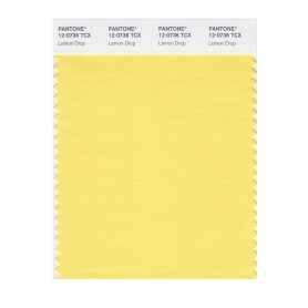 Pantone 12-0736 TCX Swatch Card Lemon Drop