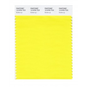 Pantone 12-0752 TCX Swatch Card Buttercup