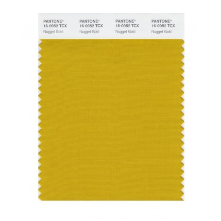 Pantone 16-0952 TCX Swatch Card Nugget Gold