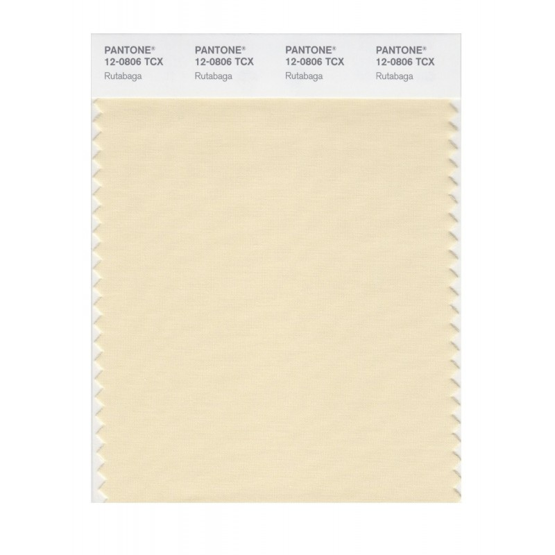 Pantone 12-0804 TCX Swatch Card Cloud Cream