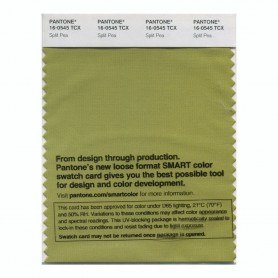 Pantone 16-1054 TCX Swatch Card Sunflower