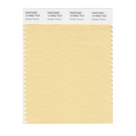 Pantone 12-0822 TCX Swatch Card Golden Fleece