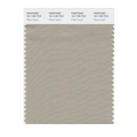 Pantone 16-1105 TCX Swatch Card Plaza Taupe