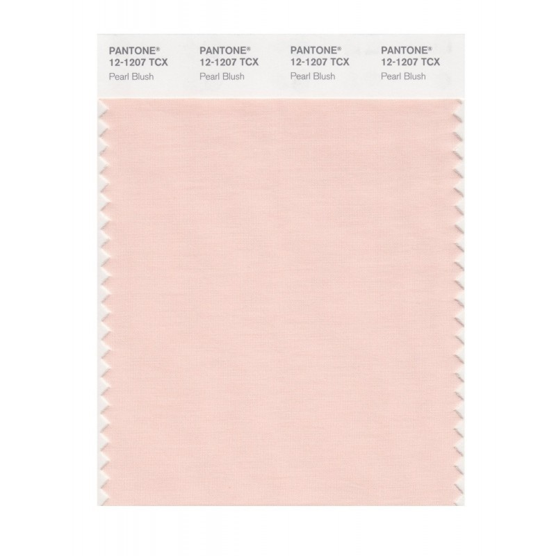 Pantone 12-1107 TCX Swatch Card Pink Champagne