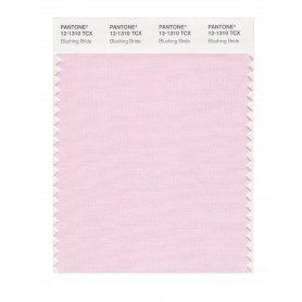 Pantone 12-1310 TCX Swatch Card Blushing Bride