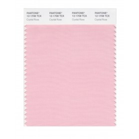Pantone 12-1708 TCX Swatch Card Crystal Rose