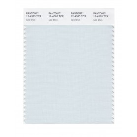 Pantone 12-4305 TCX Swatch Card Spa Blue