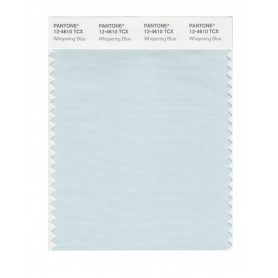 Pantone 12-4610 TCX Swatch Card Whispering Blue