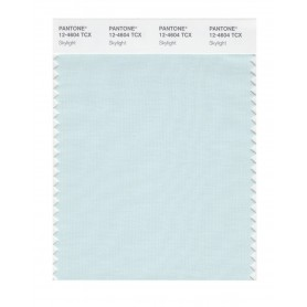 Pantone 12-4604 TCX Swatch Card Skylight