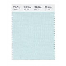 Pantone 12-5206 TCX Swatch Card Blue Glass