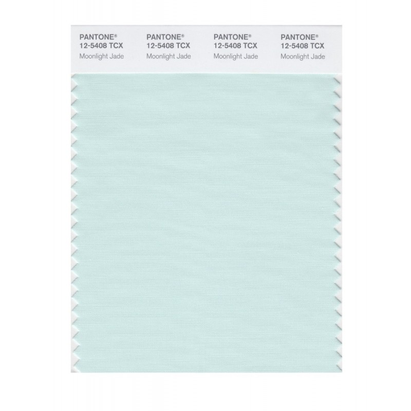 Pantone 12-5404 TCX Swatch Card Whisper Green