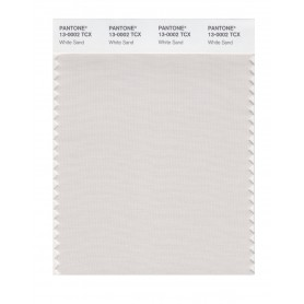 Pantone 13-0002 TCX Swatch Card White Sand
