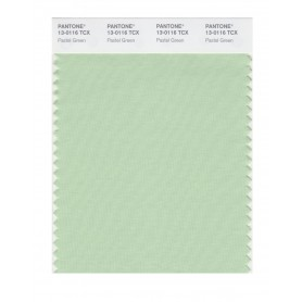 Pantone 13-0116 TCX Swatch Card Pastel Green