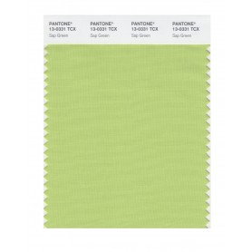 Pantone 13-0331 TCX Swatch Card Sap Green