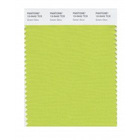 Pantone 13-0442 TCX Swatch Card Green Glow