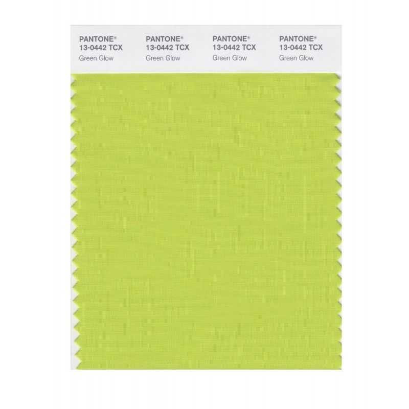 Pantone 13-0333 TCX Swatch Card Lima Bean