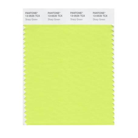 Pantone 13-0513 TCX Swatch Card Frozen Dew