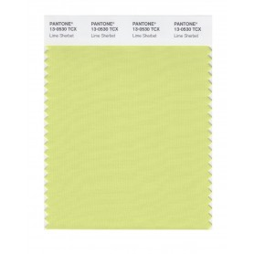 Pantone 13-0530 TCX Swatch Card Lime Sherbert