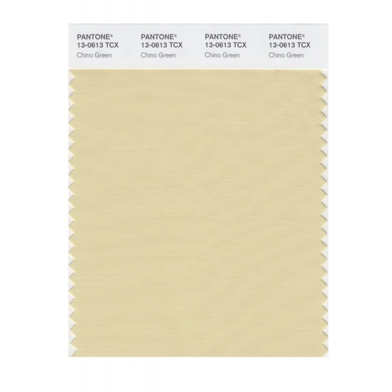 Pantone 13-0550 TCX Swatch Card Lime Punch