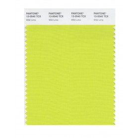 Pantone 13-0540 TCX Swatch Card Wild Lime