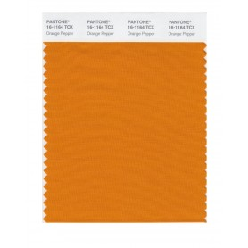 Pantone 16-1164 TCX Swatch Card Orange Pepper