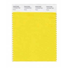 Pantone 13-0746 TCX Swatch Card Maize
