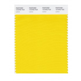 Pantone 13-0752 TCX Swatch Card Lemon