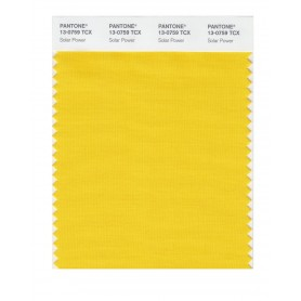 Pantone 13-0759 TCX Swatch Card Solar Power