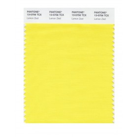 Pantone 13-0756 TCX Swatch Card Lemon Zest