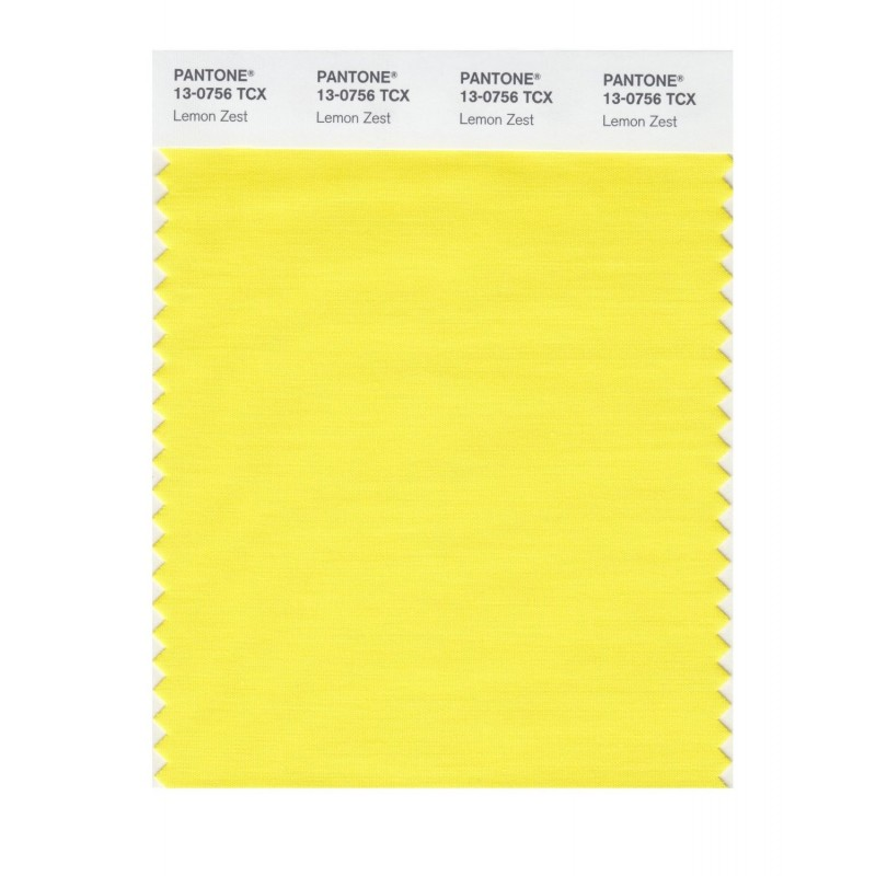 Pantone 13-0739 TCX Swatch Card Cream Gold