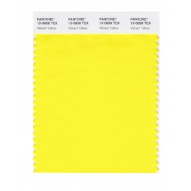 Pantone 13-0858 TCX Swatch Card Vibrant Yello