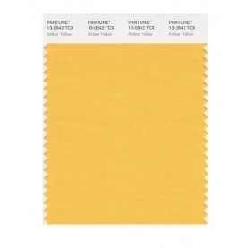 Pantone 13-0942 TCX Swatch Card Amber Yellow