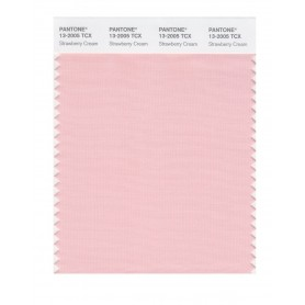 Pantone 13-2005 TCX Swatch Card Strawberry Cream
