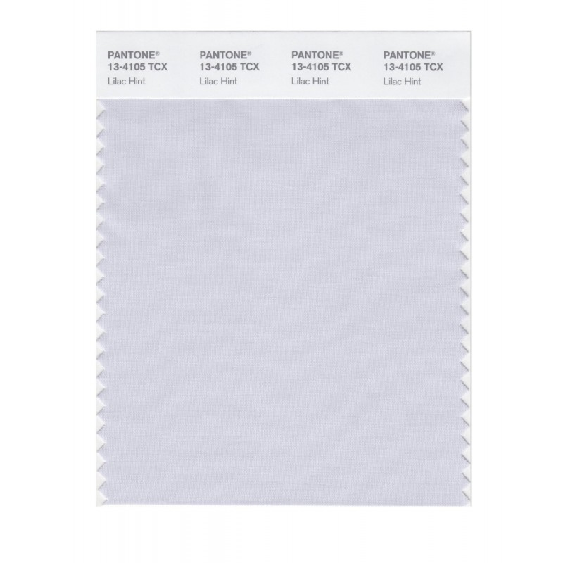 Pantone 13-4103 TCX Swatch Card Illusion Blue