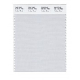 Pantone 13-4108 TCX Swatch Card Nimbus Cloud