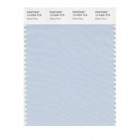 Pantone 13-4304 TCX Swatch Card Ballad Blue