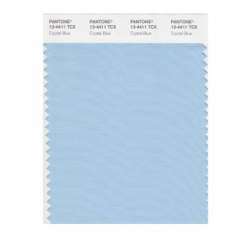 Pantone 13-4411 TCX Swatch Card Crystal Blue