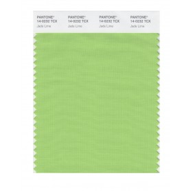 Pantone 14-0232 TCX Swatch Card Jade Lime