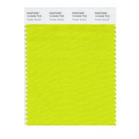 Pantone 14-0446 TCX Swatch Card Tender Shoots