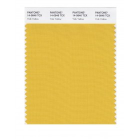 Pantone 14-0846 TCX Swatch Card Yolk Yellow