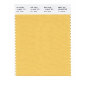Pantone 14-0847 TCX Swatch Card Buff Yellow