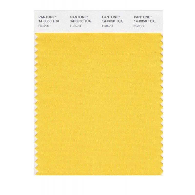 Pantone 14-0850 TCX Swatch Card Daffodil Buy in india