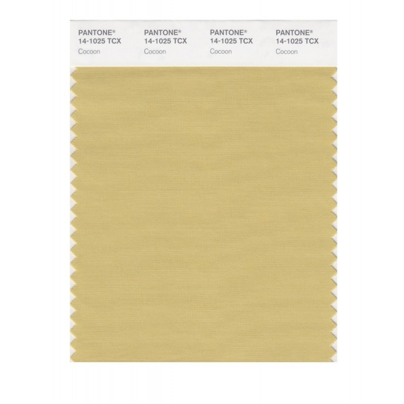 Pantone 14-0957 TCX Swatch Card Spectra Yellow